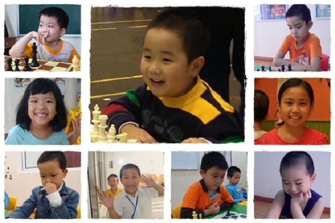 Trẻ em học cờ vua thông mình và sáng suốt hơn.